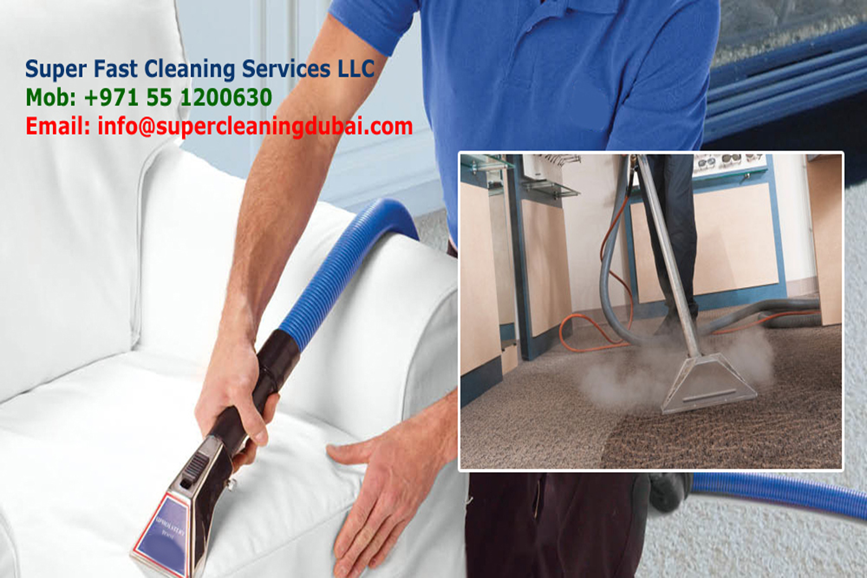 Sofa cleaning and carpet cleaning dubai